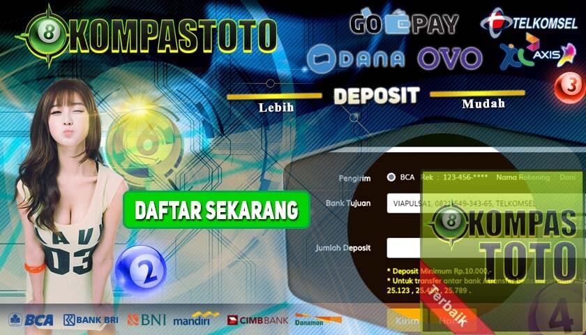 Agen Togel Online Terpercaya, Menerima deposit Pulsa Tanpa Potongan, Deposit via OVO, Akun DANA, Go-Pay, dan lain sebagainya